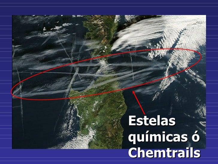 Estelas químicas ó Chemtrails