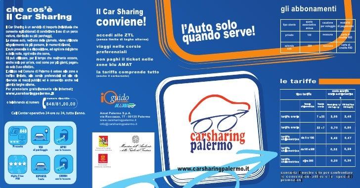 Leaflet Carsharing Palermo