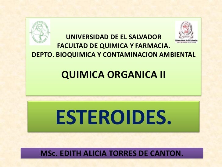 UNIVERSIDAD DE EL SALVADOR       FACULTAD DE QUIMICA Y FARMACIA.DEPTO. BIOQUIMICA Y CONTAMINACION AMBIENTAL       QUIMICA ...