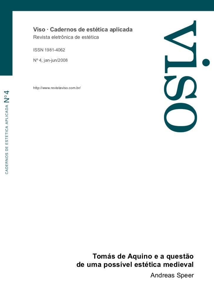 Viso · Cadernos de estética aplicadaRevista eletrônica de estéticaISSN 1981-4062Nº 4, jan-jun/2008http://www.revistaviso.c...