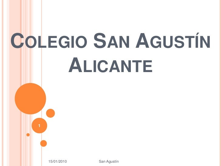 Maria Power Colegio Agustinos
