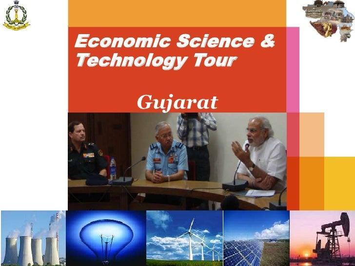 Economic Science &Technology Tour     Gujarat