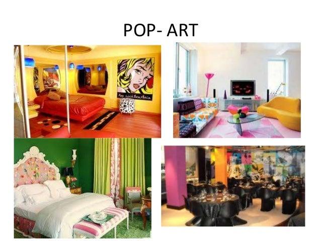 Estilo de dise o de interiores - Decoracion pop art ...