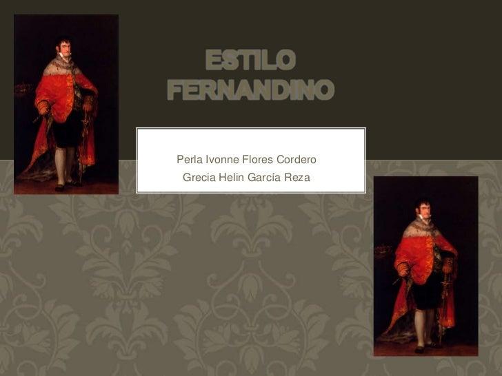 Mueble Estilo Fernandino