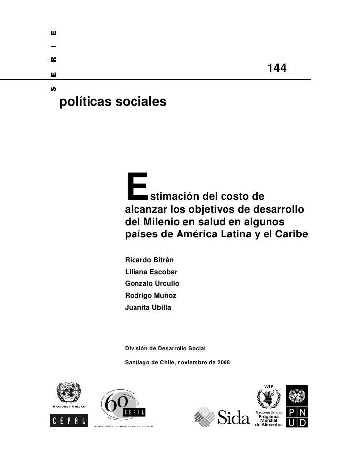 E I R                                                        144 E S         políticas sociales                    E    st...