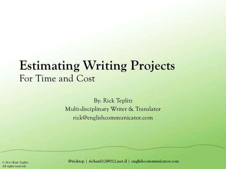 Technical writer hourly rate