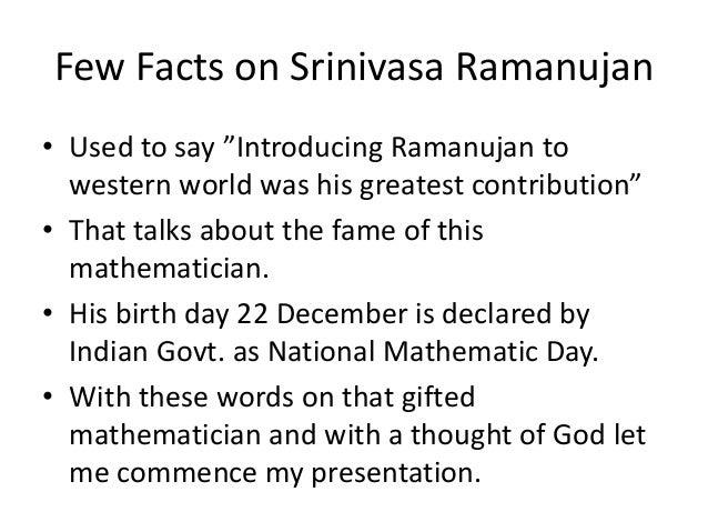 ramanujan essays and surveys The cambridge professor realized that srinivasa ramanujan had produced new  ramanujan: essays and surveys  as murty's survey paper notes, ramanujan graphs.