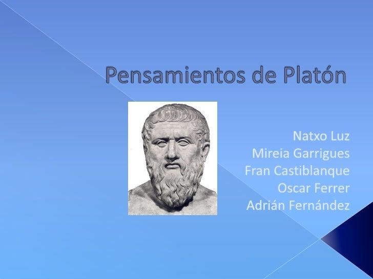 Pensamientos de Platón<br />Natxo Luz<br />Mireia Garrigues<br />Fran Castiblanque<br />Oscar Ferrer<br />Adrián Fernández...