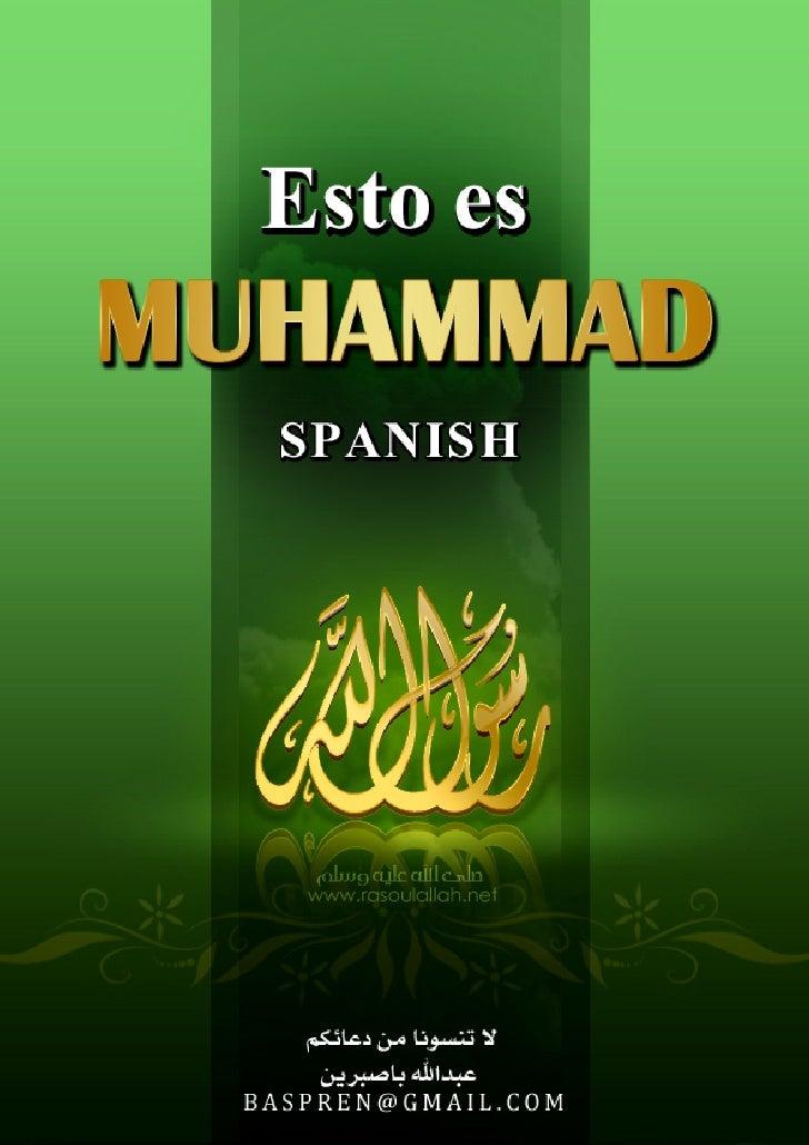 Esto Es  MUHAMMAD _Spanish