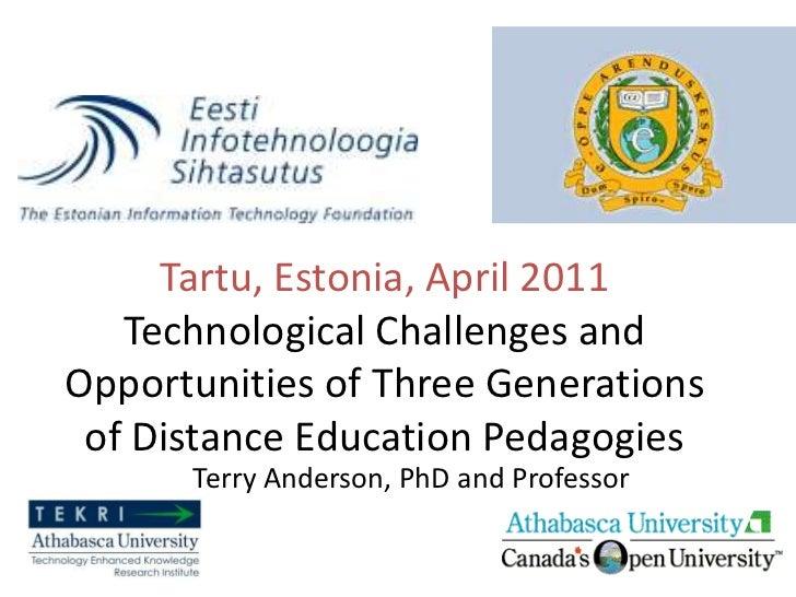 Estonia E-Learning Conference 2011 - Tartu