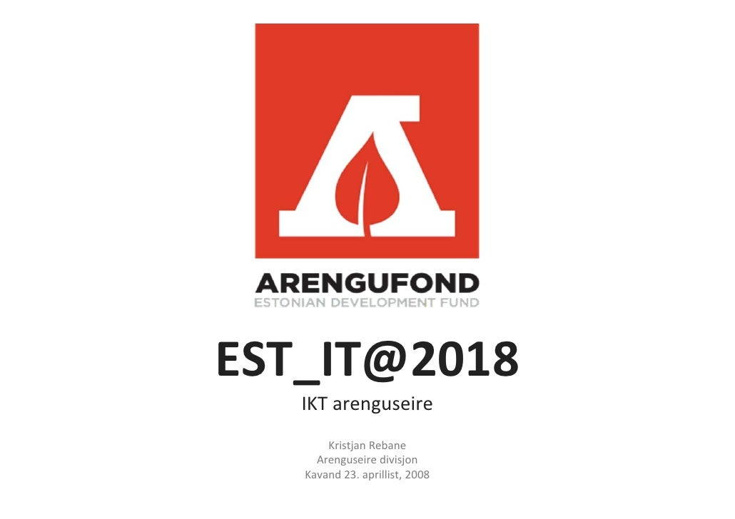 Estonian ICT foresight