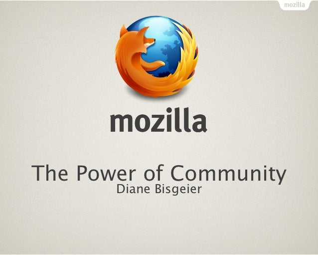 Mozilla + WebFWD