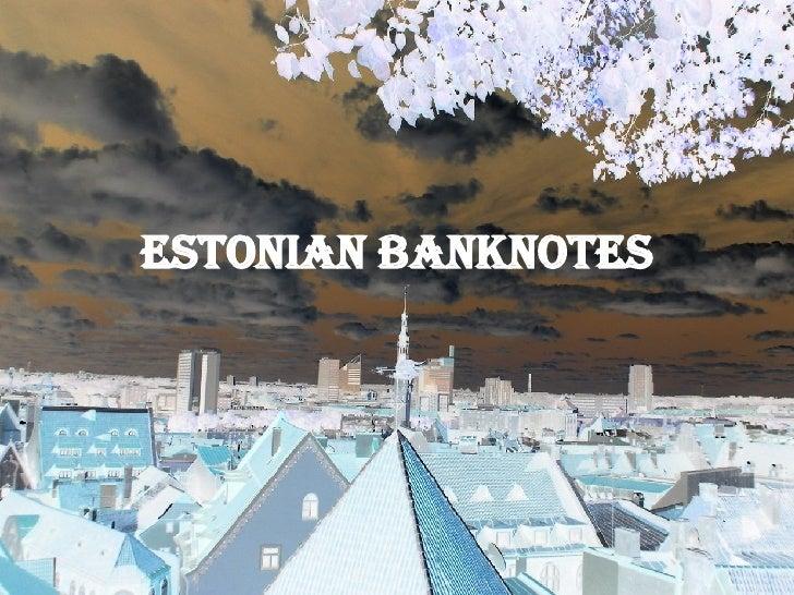 Estonian currency