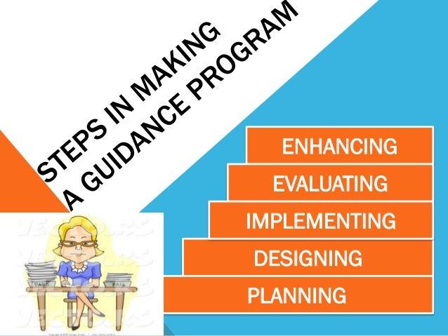 Estores   steps in making guidance program