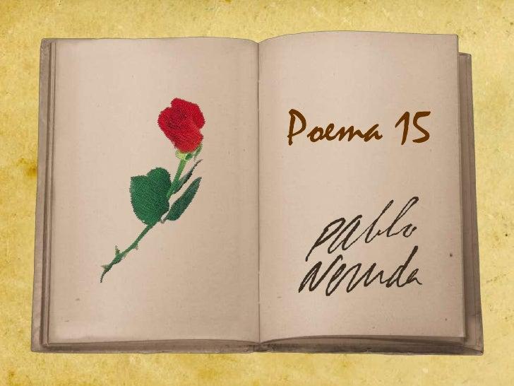 Poema 15<br />