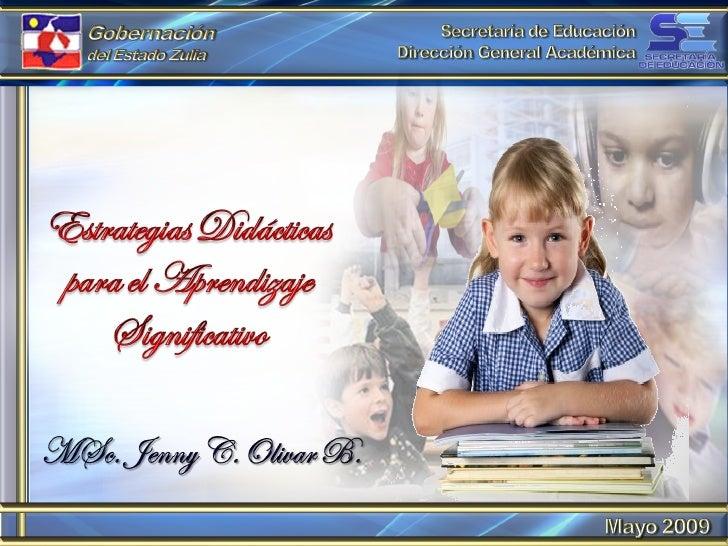 Estrategías didácticas para el aprendizaje significativo
