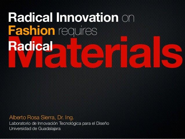 Estrategia de diseño, 1er Congreso Estudiantes de Moda 2013