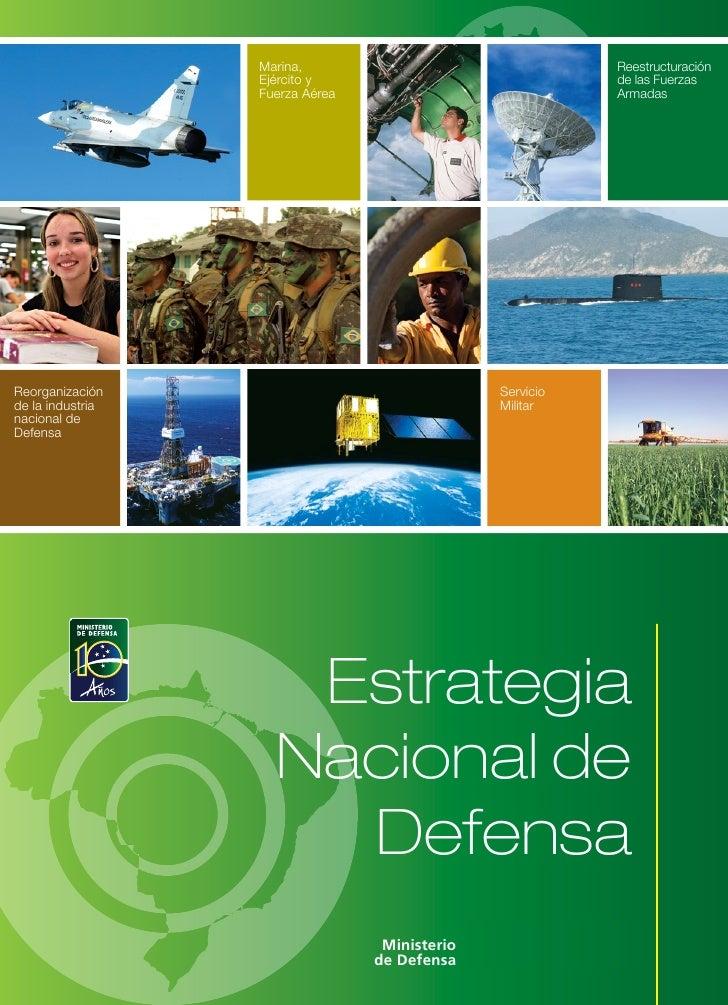 Plan de estrategia nacional de defensa de Brasil