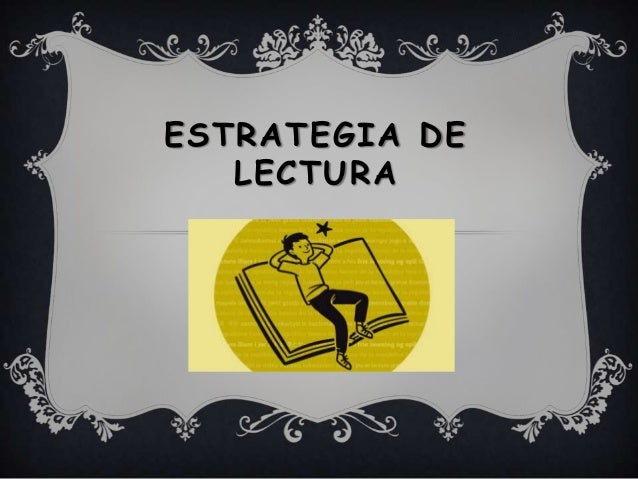 Estrategia de lectura