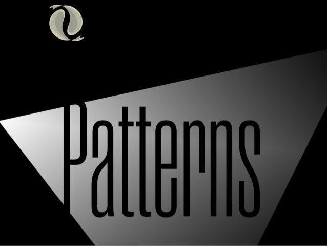 Patterns - Planejando em um ambiente imprevisível