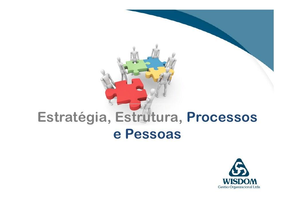 Estratégia, Estrutura, Processos             e Pessoas