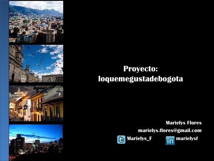 Estrategia Marketing Digital  Proyecto Bogotá