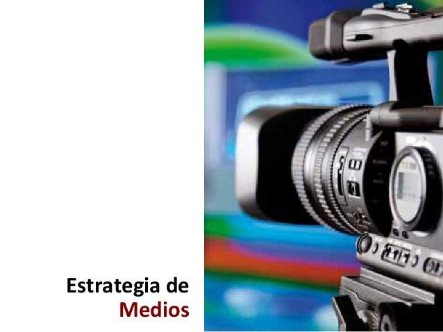 Estrategia  de   Medios    QUE ES LA PUBLICIDAD