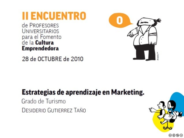 Estrategias de aprendizaje en marketing