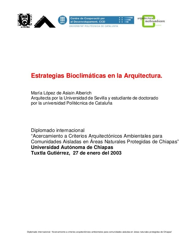 Estrategias bioclimaticas en_arquitectura