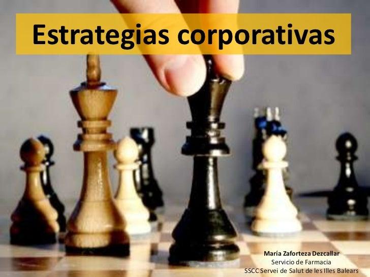 Estrategias corporativas de mejora de la prescripción