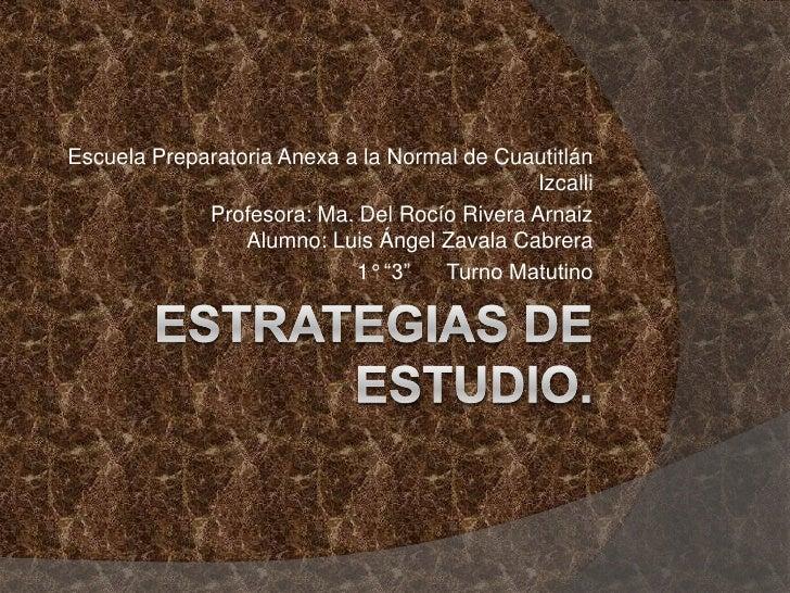 Escuela Preparatoria Anexa a la Normal de Cuautitlán                                              Izcalli             Prof...