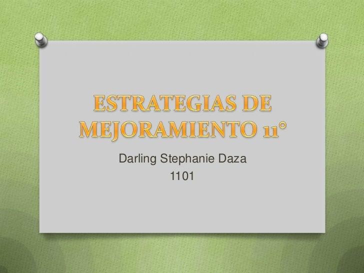 Darling Stephanie Daza         1101