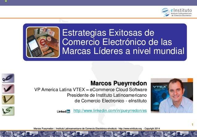 """Webinar """"Estrategias Exitosas de Comercio Electrónico de las Marcas Líderes a nivel mundial"""""""
