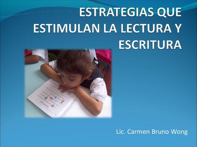 Lic. Carmen Bruno Wong