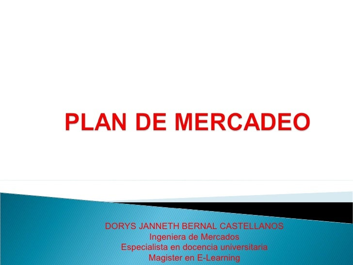 Estrategias y plan de mercadeo