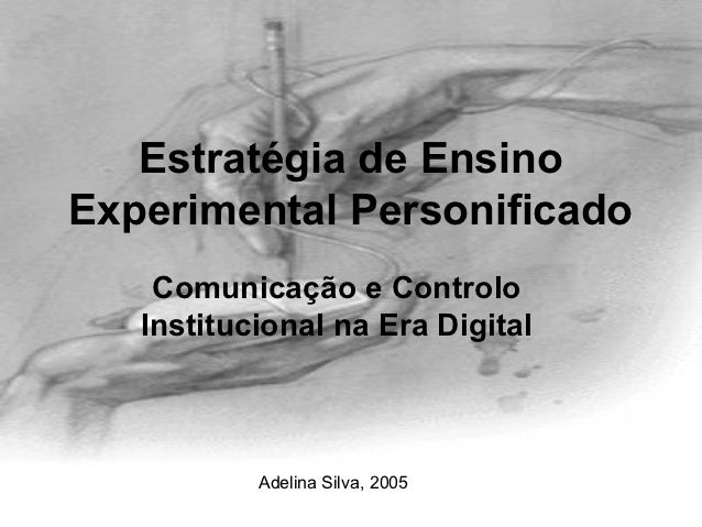 Estratégia de ensino experimental personificado