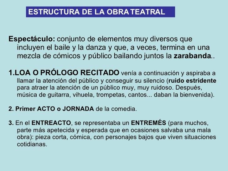 Estructura De La Obra Teatral