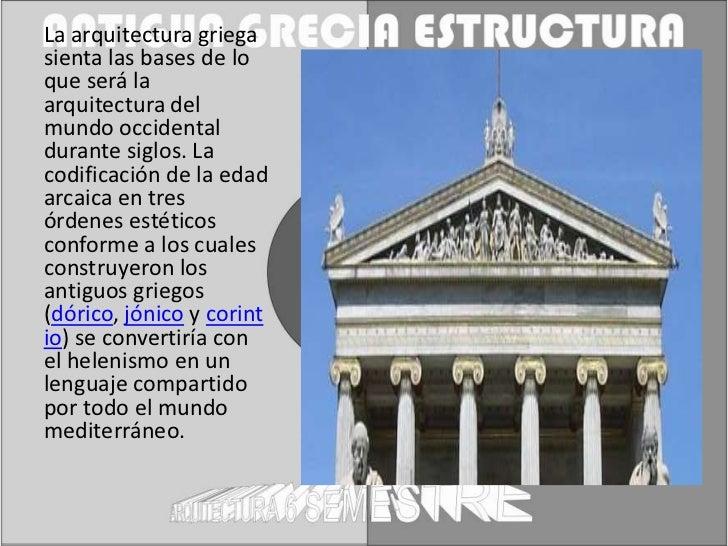 Estructura antigua grecia for Arquitectura de grecia