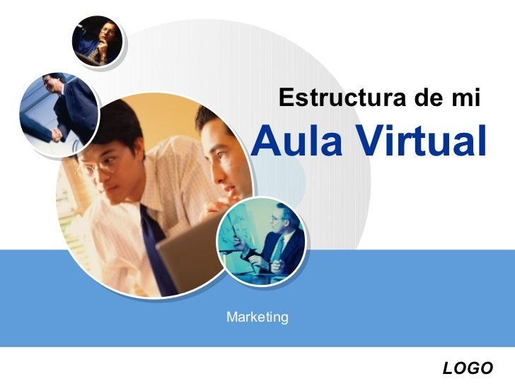 Estructura de mi   Aula VirtualMarketing                   LOGO