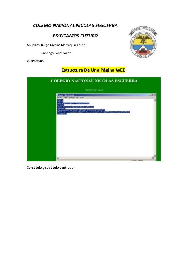 Estructura html 3