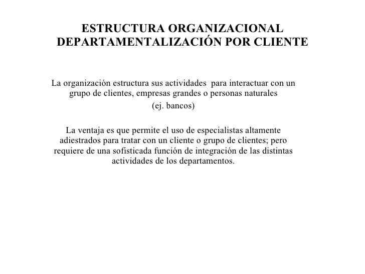 Estructura Por Clientes Por Cliente la