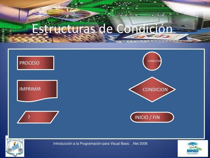 Estructuras de Condición                                                                           CONECTOR PROCESO    IMP...