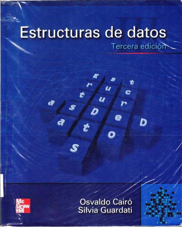 Estructuras de datos   osvaldo cairo