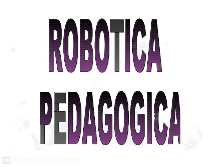 ROBOTICA PEDAGOGICA