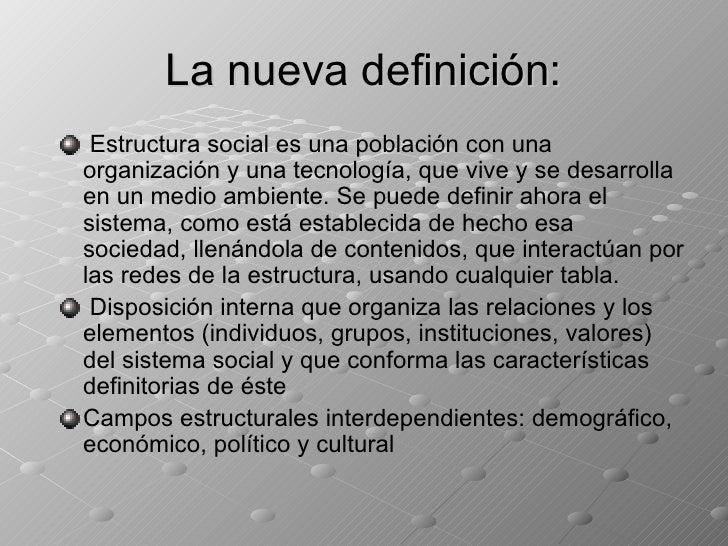 Estructura social for Concepto de familia pdf