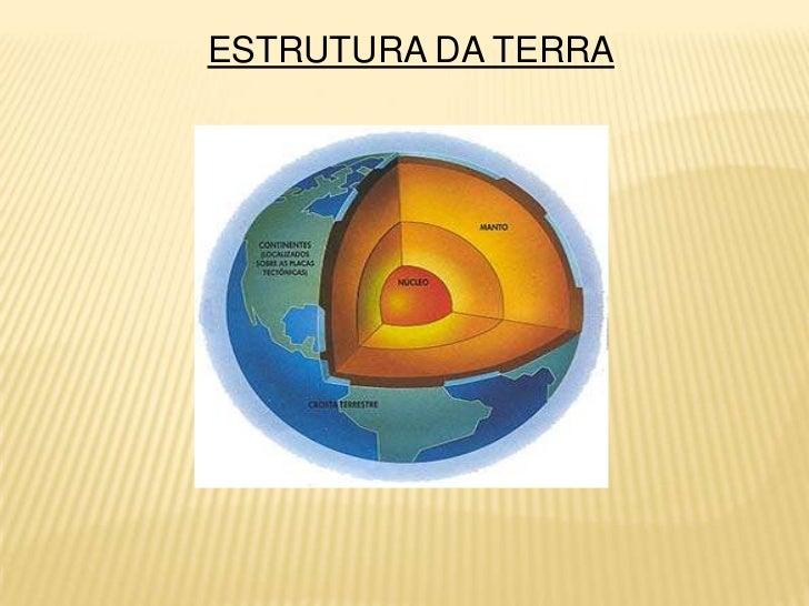 ESTRUTURA DA TERRA<br />