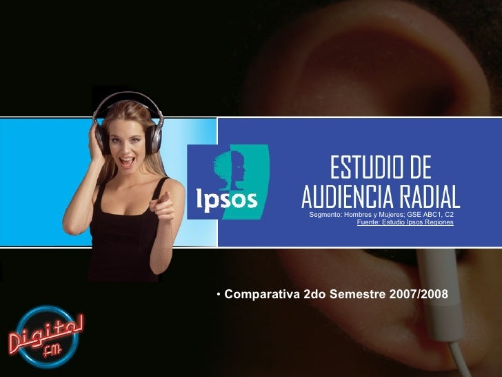 Estudio Audiencia Radial - IPSOS
