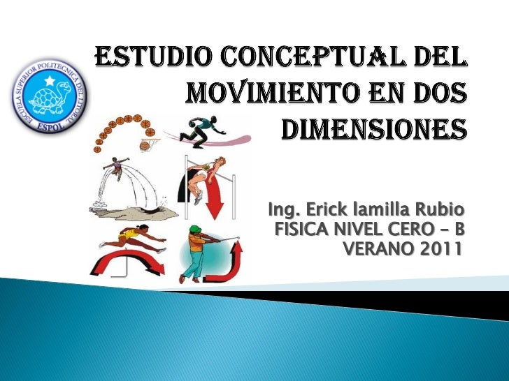Ing. Erick lamilla Rubio FISICA NIVEL CERO – B          VERANO 2011