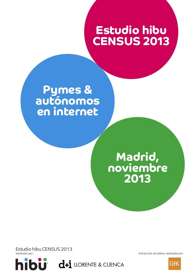 Estudio hibu Census de Pymes 2013