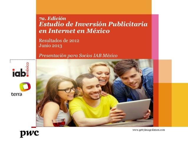 Estudio de Inversión Publicitaria en Internet. 7a Edición